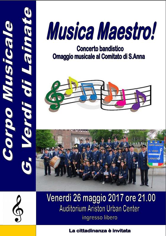 Musica Maestro concerto 26/05/2017